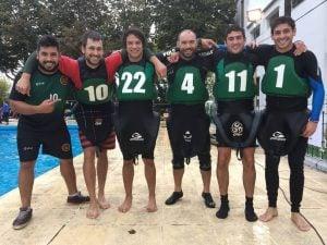 Club de Pescadores, volvió a ganar la fecha de la Copa Argentina de Kayak Polo