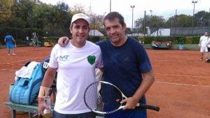 Intensa actividad del tenis verdinegro