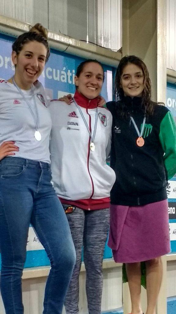 Brenda Solé y Candela Nieves,  medalla de oro y bronce en el Nacional