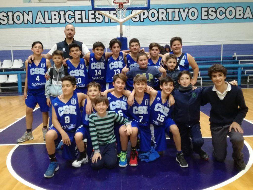 Sportivo Escobar,  clasificó al zonal provincial de  U13
