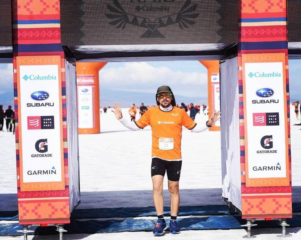 Juanma Villarruel, un apasionado del atletismo