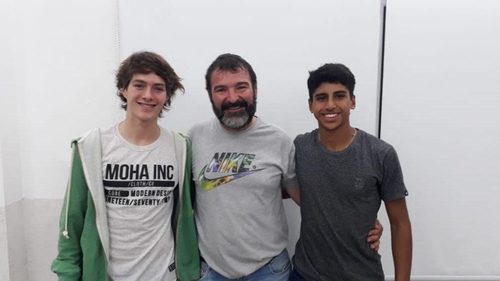 Vicente Gomez y Tobías Pereyra: dos baluartes del atletismo escobarense
