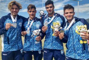 Acuña conquistó la medalla de plata en los Odesur
