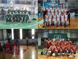 Amplia y satisfactoria participación del básquet local
