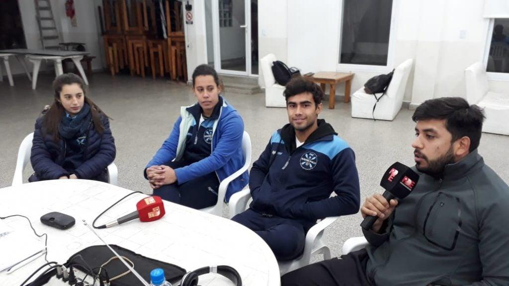 La delegación argentina de Kayak Polo, lista para viajar al Mundial de Canadá