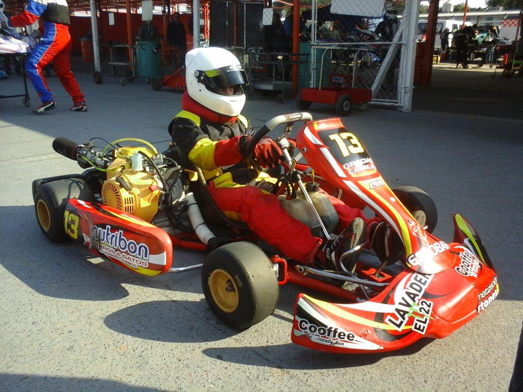 Lucas Monroy corrió  la cuarta fecha de  ROTAX en Zárate