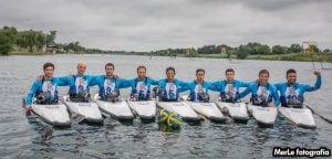Mundial Kayak Polo, día 4: vibrante participación Argentina
