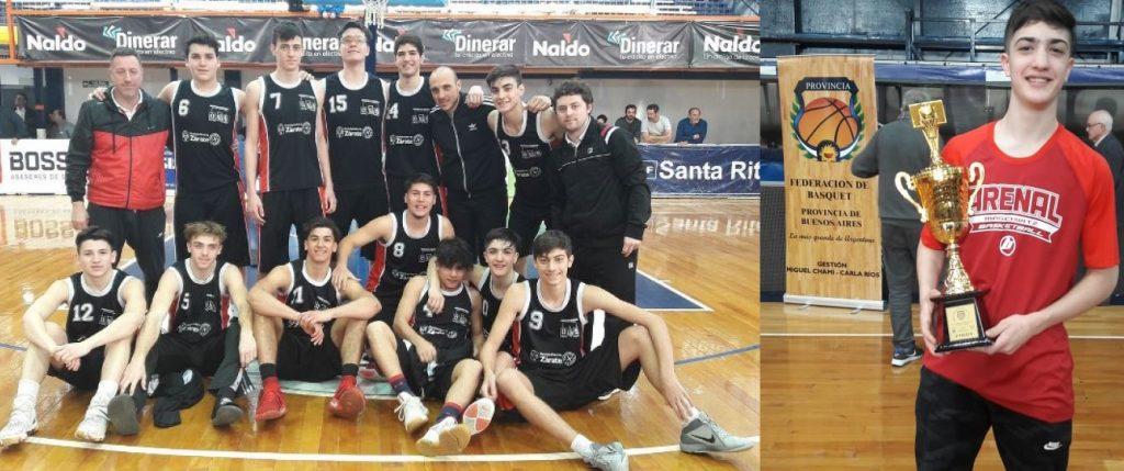 Polese y los U17 se subieron al podio