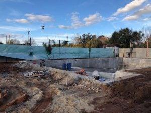 Las obras en Sportivo Escobar continúan a buen ritmo