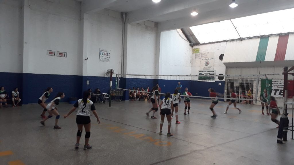 Voley inferiores: Resumen de CITES, CAIDE y Escobar Voley