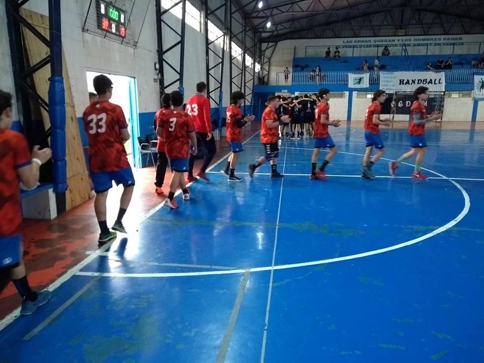 Handball: suerte dispar para las inferiores y los mayores