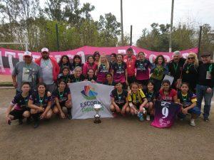 El femenino de Atlético Escobar fue campeón invicto