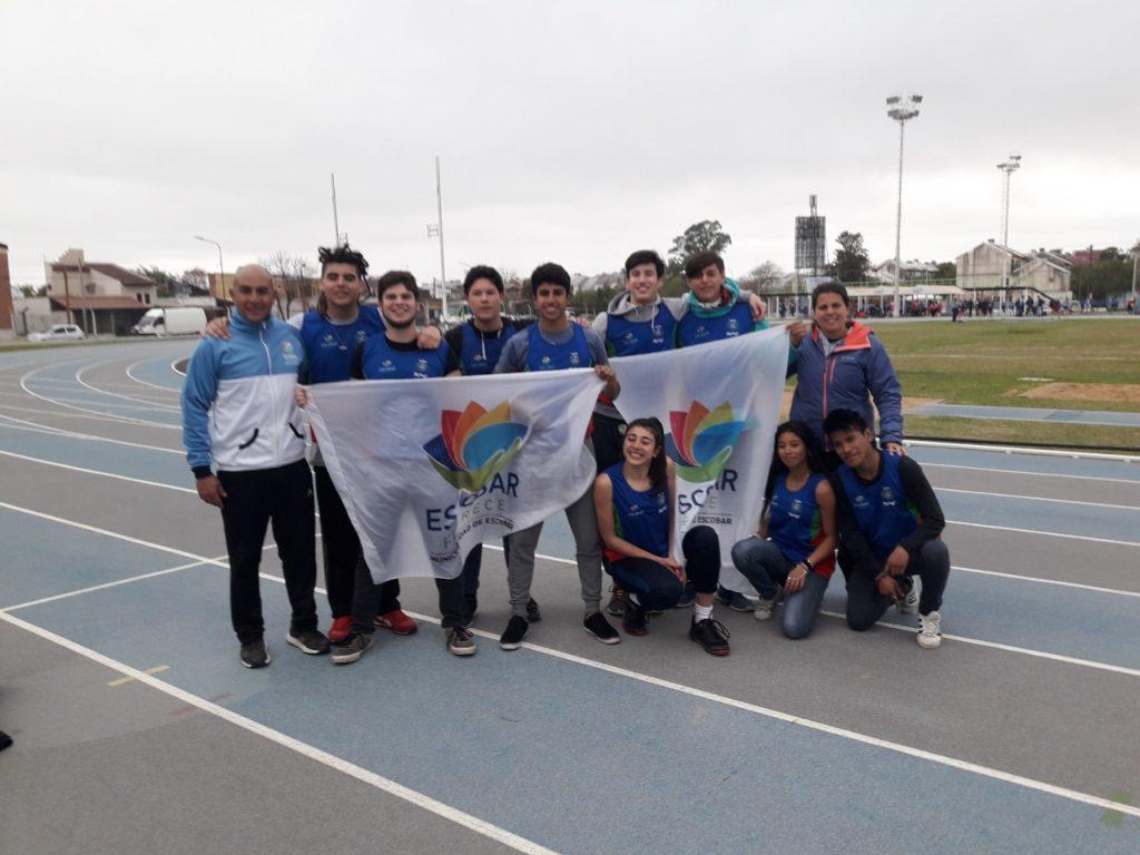 Los atletas escobarenses U18 se trajeron buenas marcas de Chaco