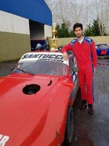 Santucci se subió al podio en La Plata