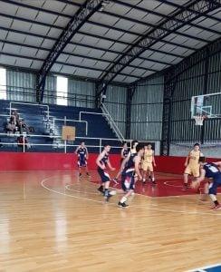 Intensa actividad en el básquet formativo