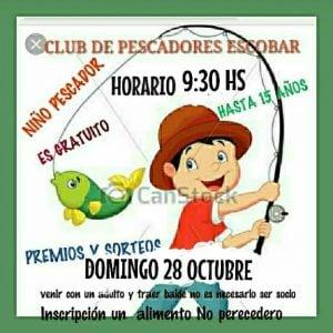 El Club de Pescadores de Escobar tendrá agenda completa durante  noviembre