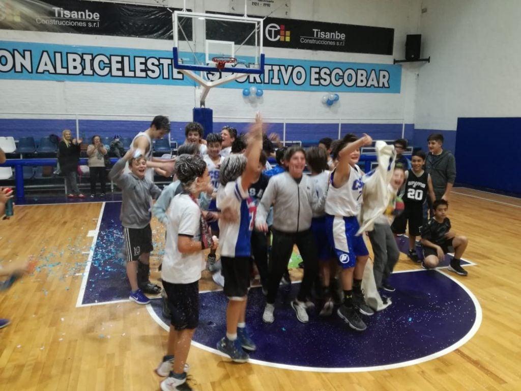 Los U13 albicelestes son campeones zonales