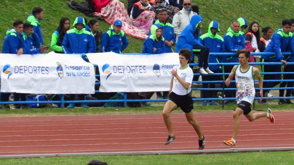 Vicente Gómez accedió a la Final de los 800 metros en los Juegos Evita