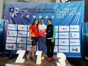 Candela Nieves, sumo oro y plata en el Provincial de Miramar