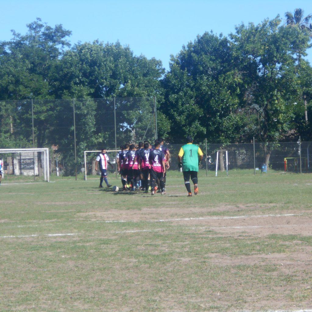 Atlético Escobar tuvo una tarde para el olvido ante San Lorenzo