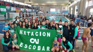 Candela Nieves sumo seis medallas en el Provincial de Miramar