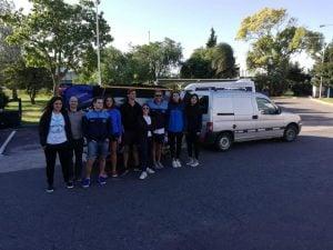 Argentina debuta hoy en el Sudamericano de Kayak Polo en Brasil