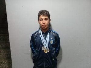 """Mathias Ovejero: """"Me gusta demostrar que puedo hacer lo mismo que mis compañeros de atletismo"""""""
