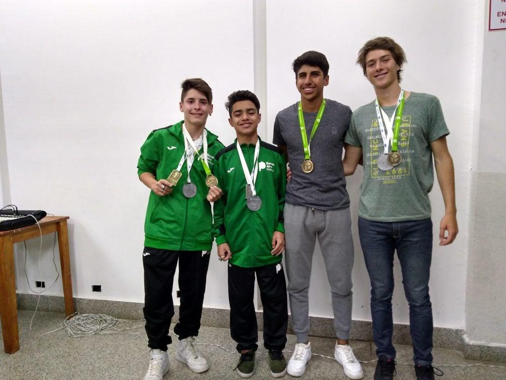 Los medallistas en los Juegos Evita y sus balances de una semana inolvidable