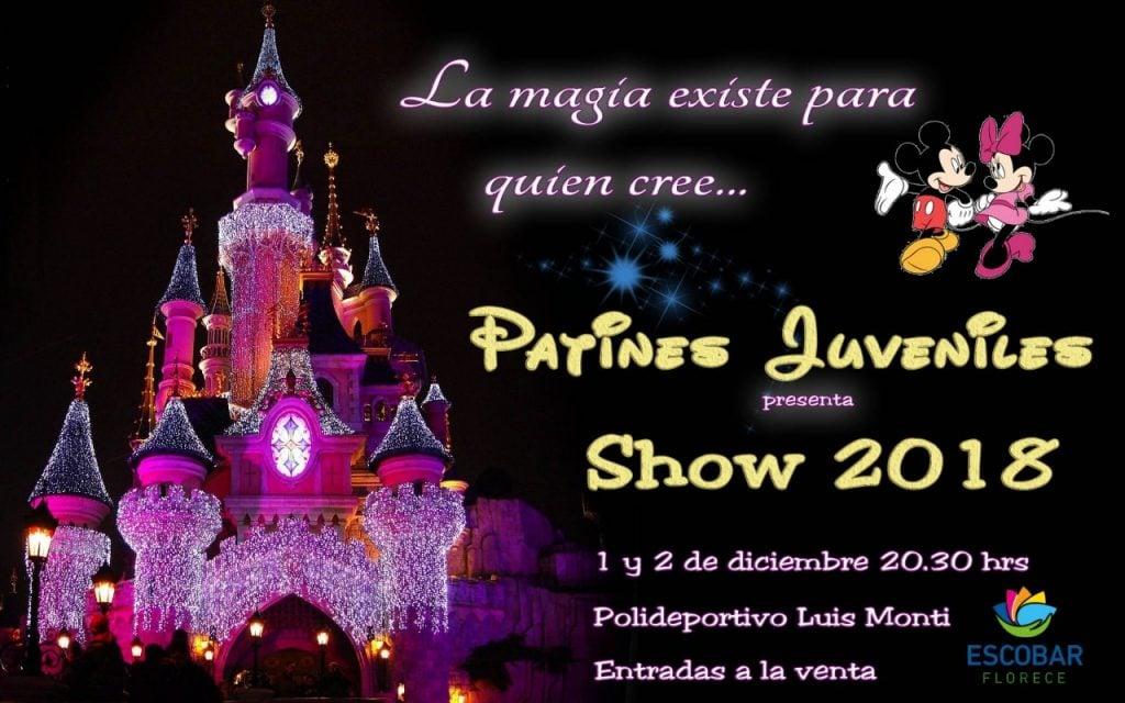 "Llega el show de Patines Juveniles ""La Magia existe para quien cree"""