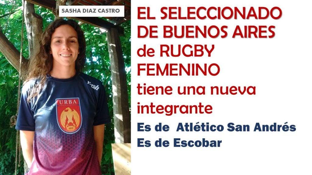 Sasha Díaz Castro, convocada para la selección URBA