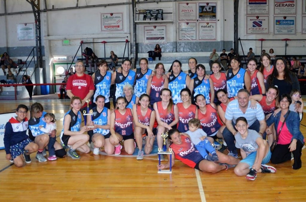 La primera de Arenal se quedó con la copa de bronce