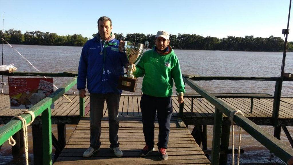 Marcos Domenech, campeón del ranking 2018 del club de Pescadores de Escobar