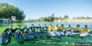 """Club de Pescadores """"A"""" ganó la primera fecha de la Copa Argentina de Kayak Polo"""