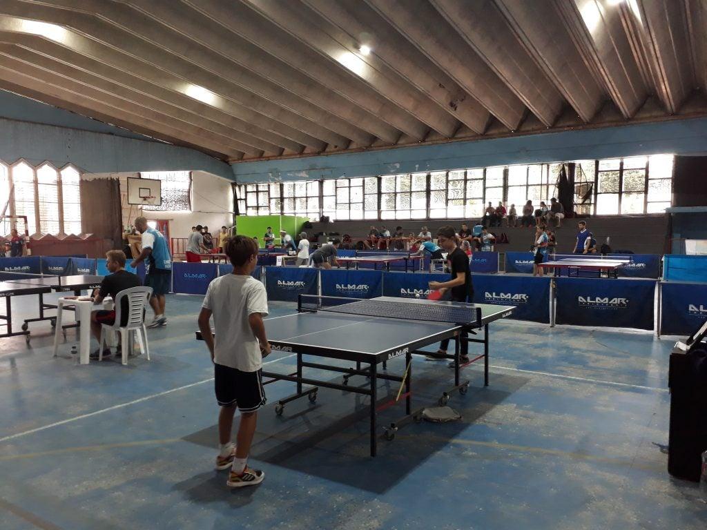 Escobar  fue sede del  primer Torneo Regional de Tenis de Mesa del año