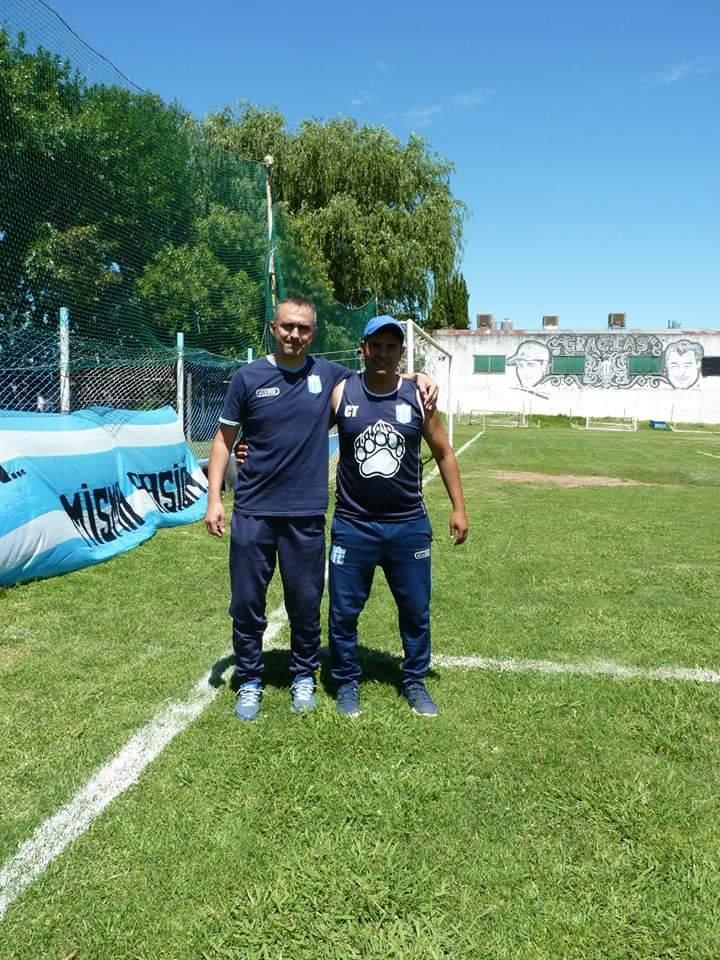Picullo y Herrera: referentes de un proyecto firme para el fútbol de Sportivo Escobar