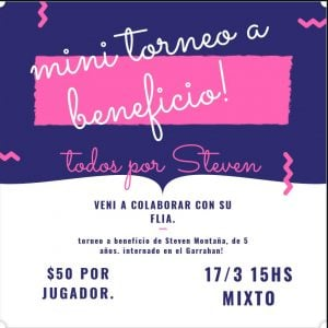 Hockey solidario en Garín