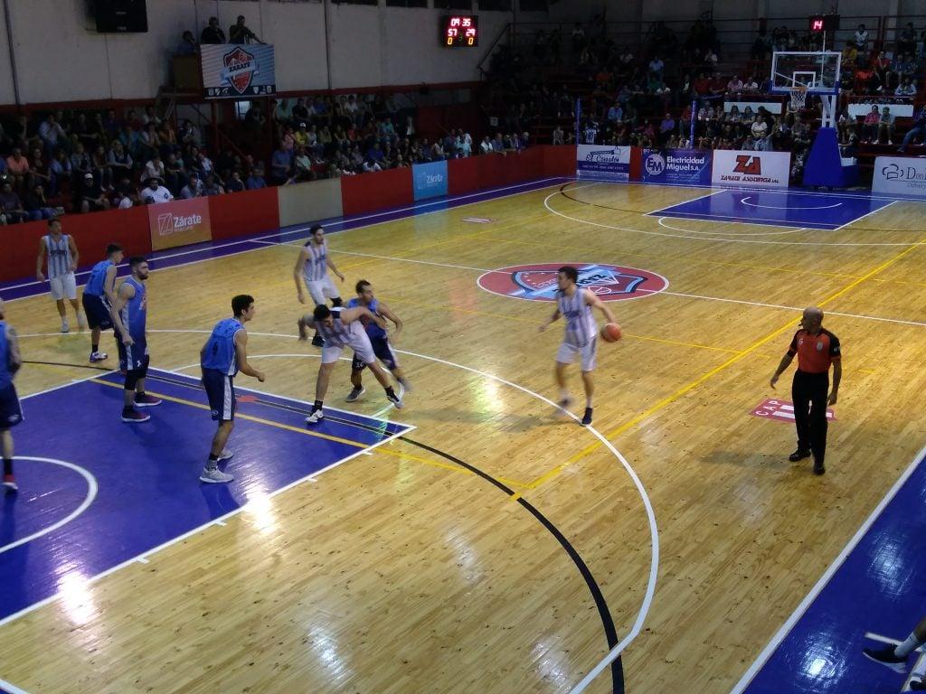 La jerarquía de Zárate Basket dejó a Sportivo Escobar en el quinto lugar