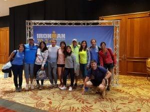 Atletas de Escobar participaron del IRONMAN 70.3 en Punta del Este