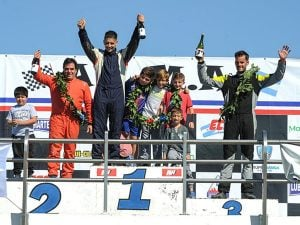 Marziano, Cordani y Santoro los destacados del Gran Premio con pilotos invitados en La Plata
