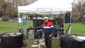 Diego Aguerrebere compartió una muestra de su museo personal de tenis