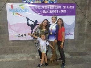 Patines Juveniles, presente en el Campeonato Argentino de Patín