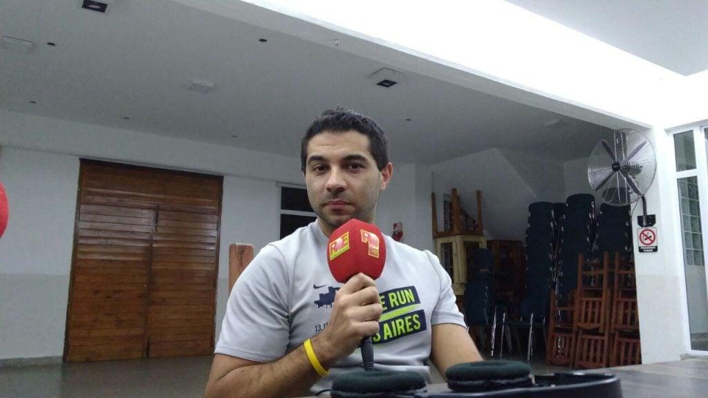 """Ezequiel Bucci: """"hoy en día tenemos nadadores de mucha categoría"""""""