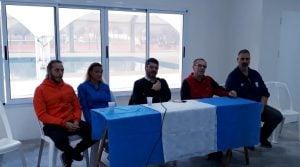 Sportivo Escobar festejo su aniversario presentando  las obras de su natatorio y nuevo gimnasio