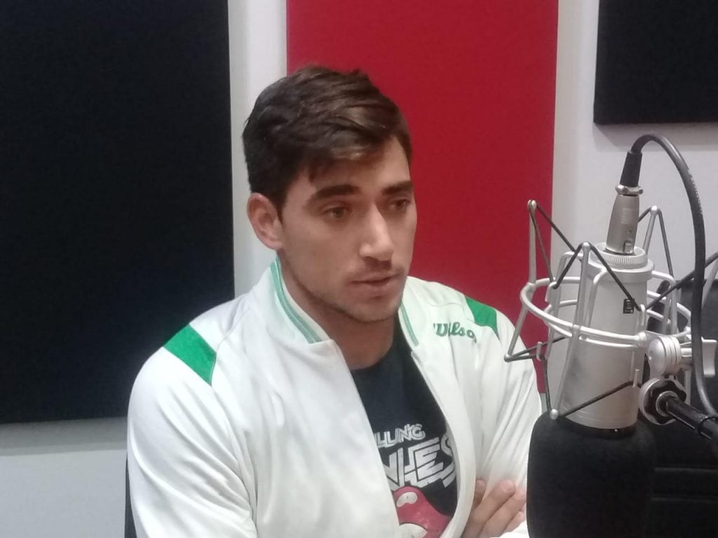 """Juan Ignacio Galarza: """"la idea sería tratar de jugar la Qualy del US Open"""""""