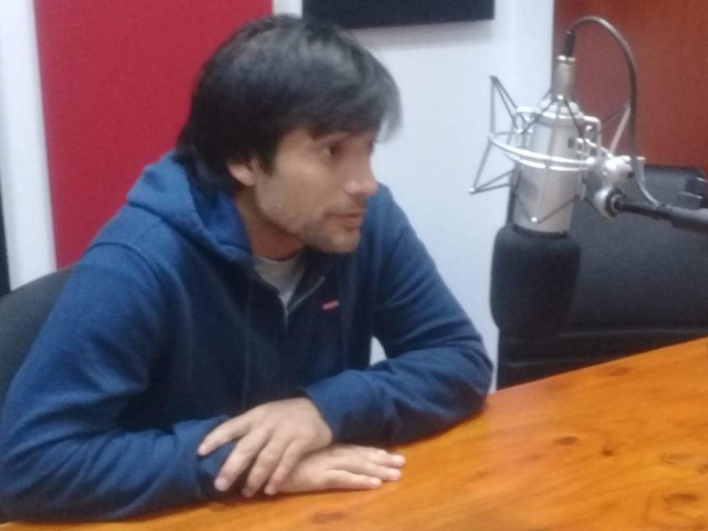"""Sebastián Velázquez: """"el objetivo de la institución es que los chicos tengan su espacio e infancia con lo necesario para no estar en la calle"""""""