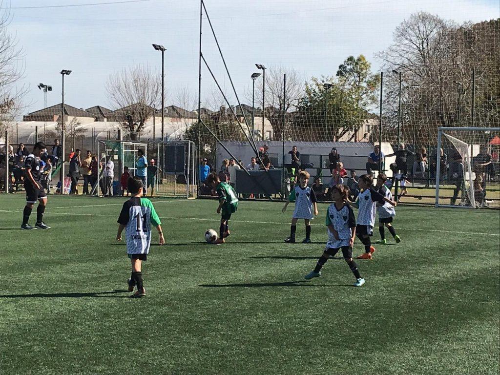 Lluvia de goles en  la quinta fecha de la Superliga Infantil