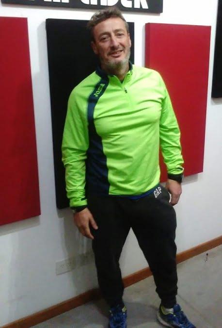 """Mauricio Buceta: """"el motivo real es correr para poder ayudar"""""""