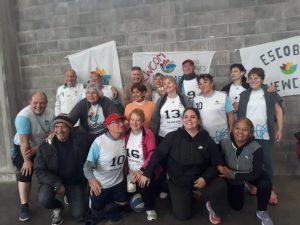 Newcon en Escobar un deporte en crecimiento para nuestros mayores