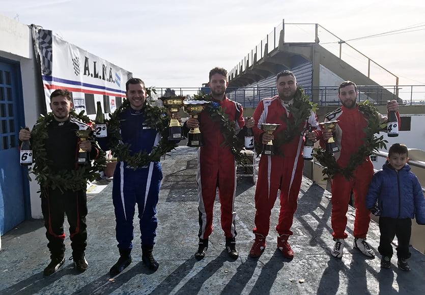 Cordani y Santoro los ganadores de la 5° fecha  en el Roberto  Mouras de La Plata