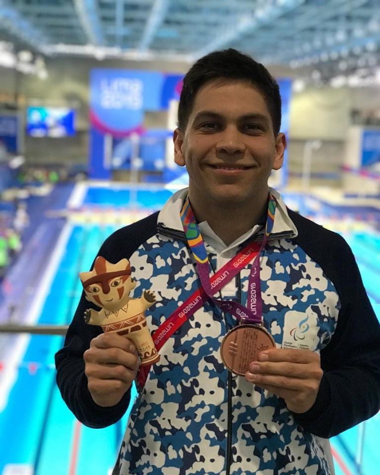 Amílcar Guerra ganó medalla de bronce en los Juegos Parapanamericanos Lima 2019